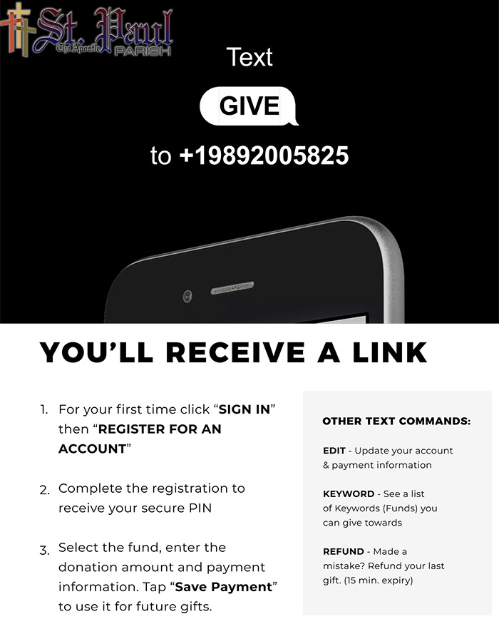 Give By Text Info